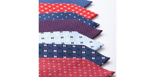 330 Kč za kravatu značky SmartMen z pravého hedvábí v hodnotě 450 Kč
