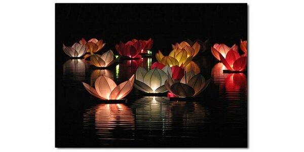 Za 119 Kč pošlete svá přání po řece v 5 vodních lampiónech v hodnotě 220 Kč