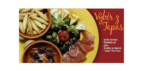 93 Kč za výběr španělských tapas ve stylovém Café Toledo v hodnotě 155 Kč