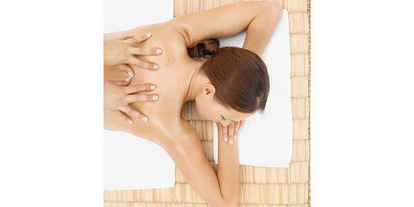180 Kč za 45minutovou relaxační masáž v původní hodnotě 300 Kč