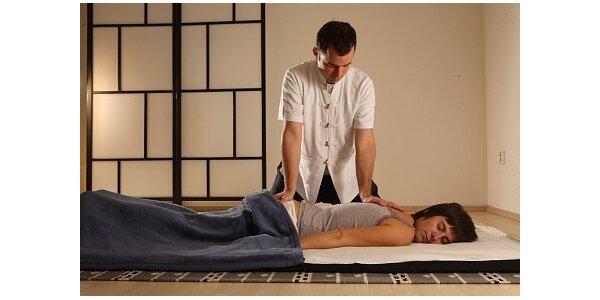 590 Kč za japonskou tradiční masáž SHIATSU - 90 minut v hodnotě 950 Kč