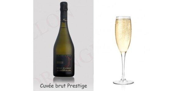 522 Kč za luxusní Champagne francais - Cuvée prestige v hodnotě 696 Kč