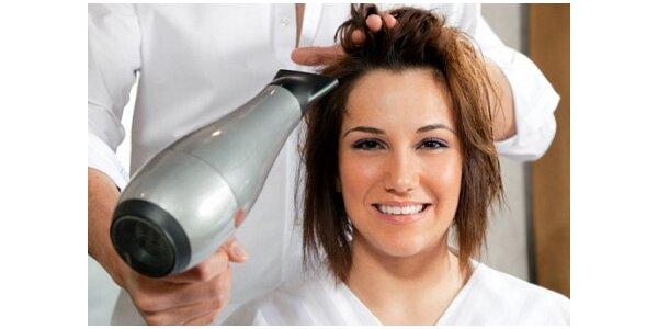 400 Kč za kompletní úpravu vlasů v původní hodnotě 750 Kč