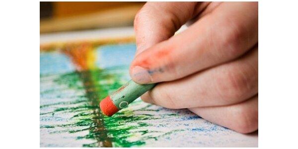1150 Kč za víkendový kurz kresby pastelem v původní hodnotě 2100 Kč