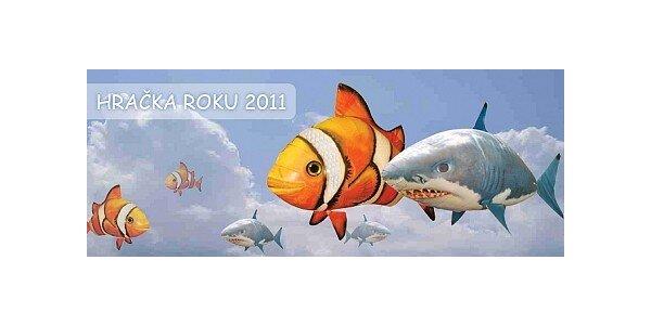 699 Kč za létající rybu Air Swimmers, Hi-Tech hračka roku v hodnotě 1699 Kč