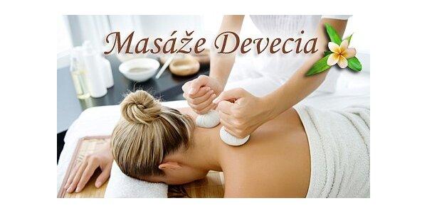 525 Kč za exotickou masáž bylinnými měšci v délce 60 minut v ceně 700 Kč