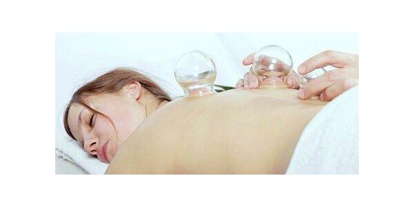 180 Kč za 40 minutovou baňkovou masáž v původní hodnotě 300 Kč
