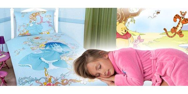 Dětské povlečení Disney, na výběr ze tří motivů