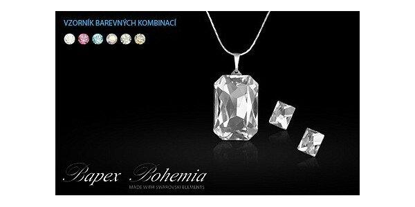 459 Kč za luxusní soupravu šperků Made with Swarovski Elements místo 706 Kč