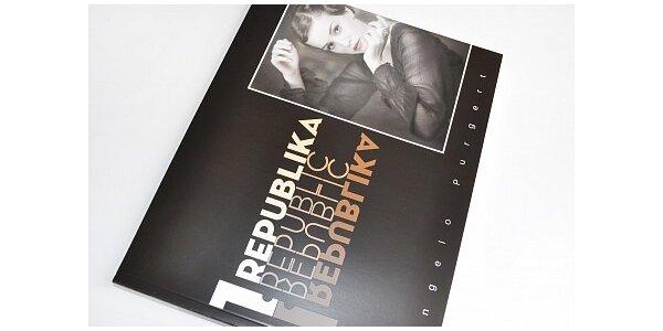 199 Kč za luxusní fotografickou knihu 1. REPUBLIKA v hodnotě 270 Kč