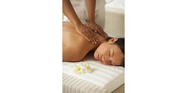 390 Kč za úžasnou antistresovou masáž v délce 60 minut v hodnotě 600 Kč