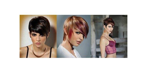 149 Kč za dámský trendy střih krátkých vlasů v hodnotě 320 Kč