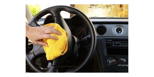 349 Kč na čištění interiéru vozu v původní hodnotě 699 Kč