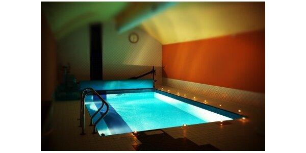 304 Kč za privátní bazén a saunu u Václavského náměstí v hodnotě 760 Kč
