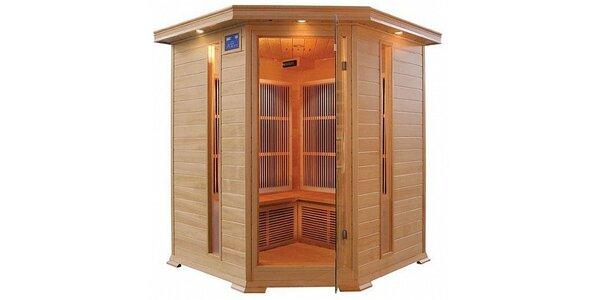 899 Kč za 10 vstupů do Infra sauny až pro 3 osoby v ceně jednoho vstupu