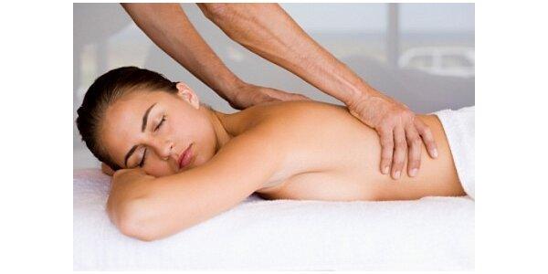 Hodinová masáž dle vlastního výběru v hodnotě 550 Kč
