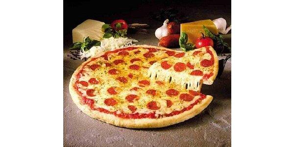 Výborná pizza s sebou dle vlastního výběru o průměru 33 cm