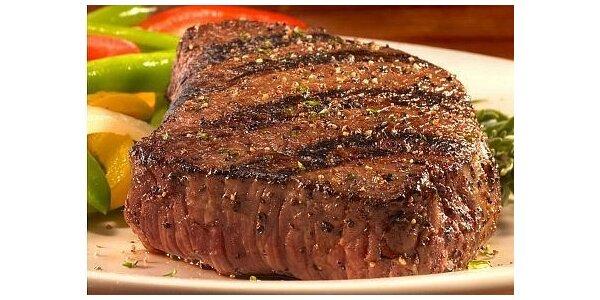 189 Kč za 200g steak z pravé Svíčkové v restauraci u Čuníka v hodnotě 299Kč