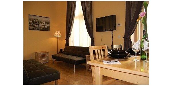 1530 Kč za ubytování v apartmánu v centru Prahy pro 4 os. v hodnotě 2560 Kč