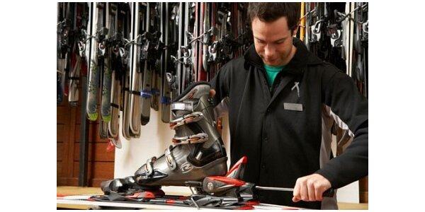 275 Kč za velký servis lyží a snowboardů v Exxtasy Sport v hodnotě 550 Kč