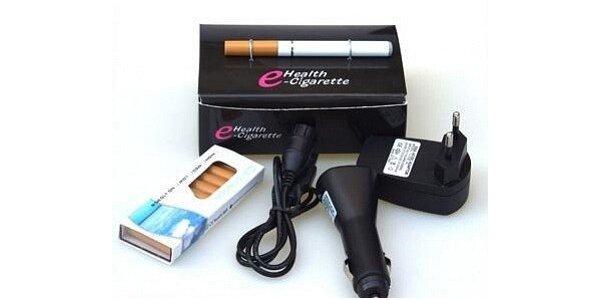 Elektronická cigareta, 10 kapslí a 3x nabíječka v hodnotě 986 Kč