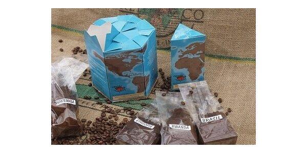 305 Kč za čerstvou kávu Zeměkouli, 100% arabika v hodnotě 405 Kč