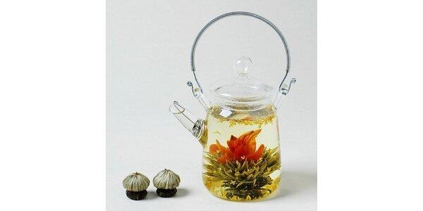 134 Kč za 5 ks kvetoucích čajů v dárkovém pytlíčku v hodnotě 215 Kč