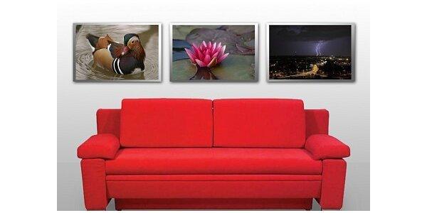 240 Kč za profesionální tisk tří fotografií 32x48 cm v kvalitě pro galerii