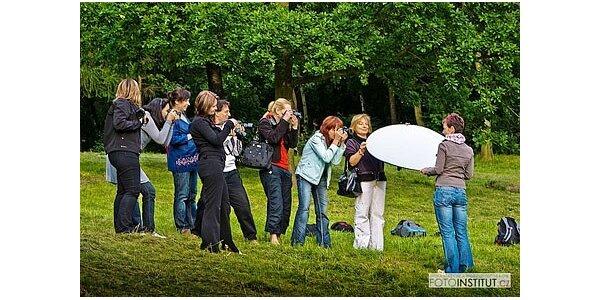 720 Kč za fotografický kurz pro začínající fotografy v hodnotě 1200 Kč
