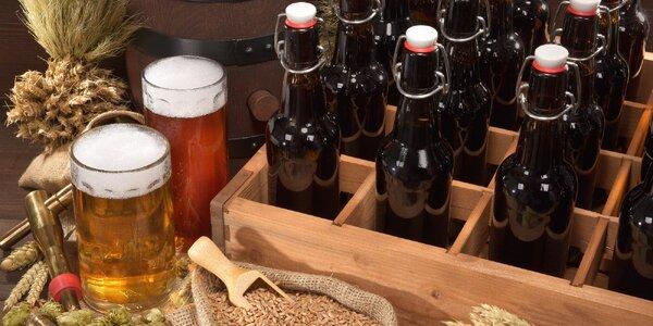 Otevřený voucher na výběr piv: 250 a 600 Kč