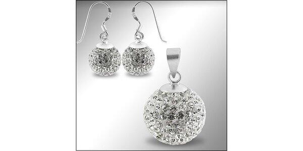399 Kč za stříbrný set Swarovski® Elements balls v hodnotě 899 Kč