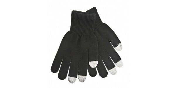 Hřejivé rukavice na dotykový displej v původní ceně 199 Kč