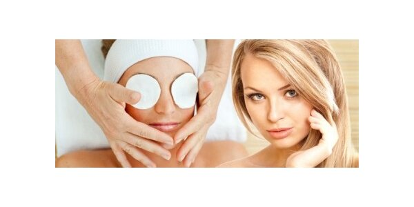 250 Kč za kosmetické ošetření pleti v délce 60 minut včetně masáže obličeje