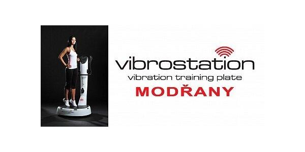 210 Kč za 3 lekce na plošině Vibrostation ve studiu Vibrostation Modřany
