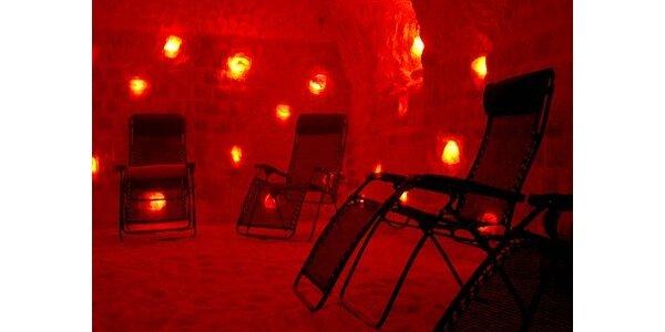 70 Kč za relaxační pobyt v solné jeskyni v Třeboni v hodnotě 120 Kč