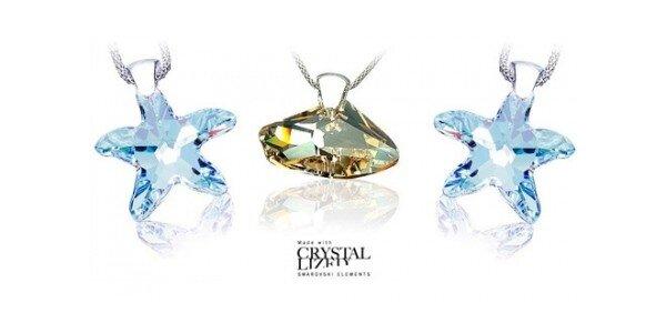 49 Kč za kupón na šperky Swarovski od Bijoux Deluxe v hodnotě 500 Kč