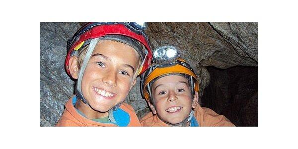 499 Kč za novou podzemní Speleo & Feratu v moravském krasu