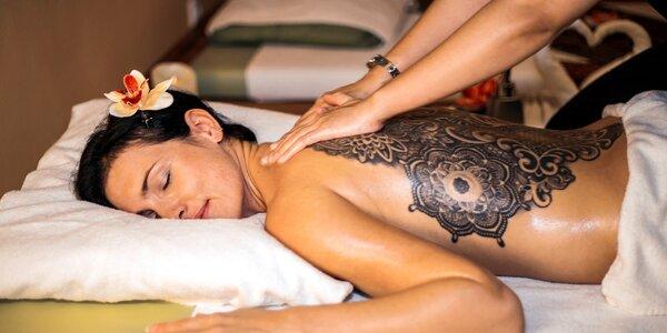 Thajské masáže v salonu Lotus: 30–60 minut blaha