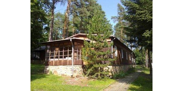850 Kč za relaxační pobyt ve zrekonstruované chatě Vranov v hodnotě 1700 Kč