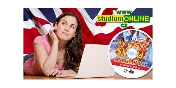 Angličtina poslechem - pouhých 19 Kč za MP3 učebnici