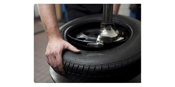 399 Kč za kompletní přezutí pneu s vyvážením