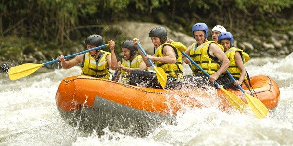 Víkendový rafting na řece Salze včetně dopravy