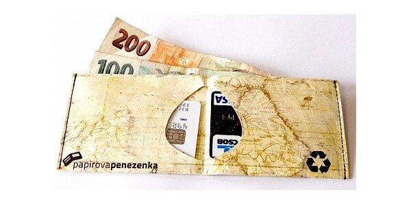 299 Kč za libovolné designové peněženky ze vzácného materiálu Tyvek.