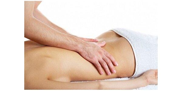 650 Kč za 2hod švédské masáže celého těla teplými kameny a baňkovou masáží