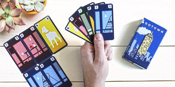Karetní hra Gotown pro 2–4 hráče od 8 let