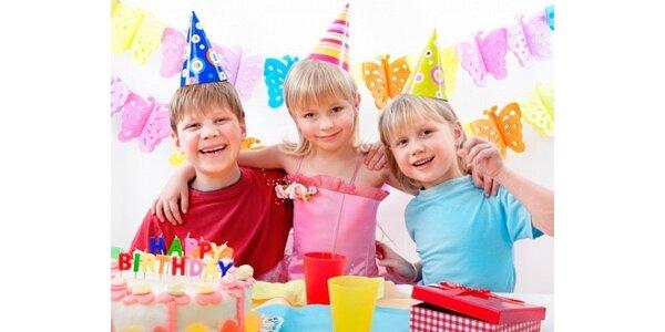 99 Kč za kupón na nákup dekorací na dětskou či letní párty v hodnotě 200 Kč