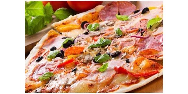199 Kč za 2x pizzu dle výběru a karafu vína o objemu 1l v hodnotě 368 Kč