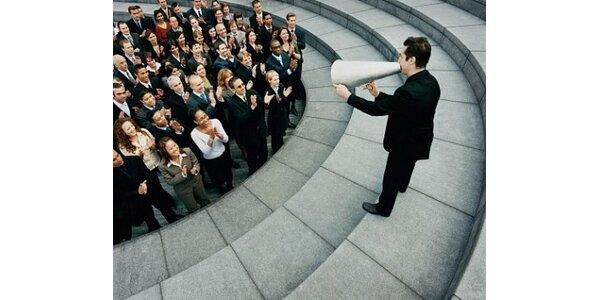 """1250 Kč za kurz """"Komunikace není jen mluvení"""" v hodnotě 2500 Kč"""