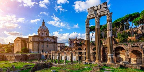 Výlet do Říma: 4* hotel na 2 noci se snídaní