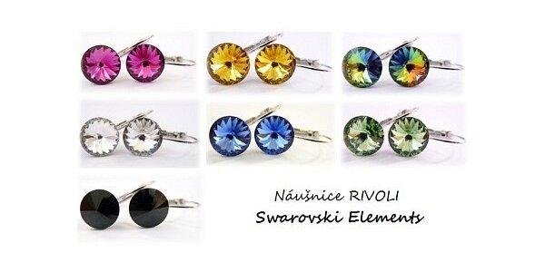 149 Kč za náušnice s krystaly Swarovski Elements - Rivoli v hodnotě 249 Kč
